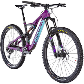 ORBEA Rallon M10 MTB Fullsuspension violet